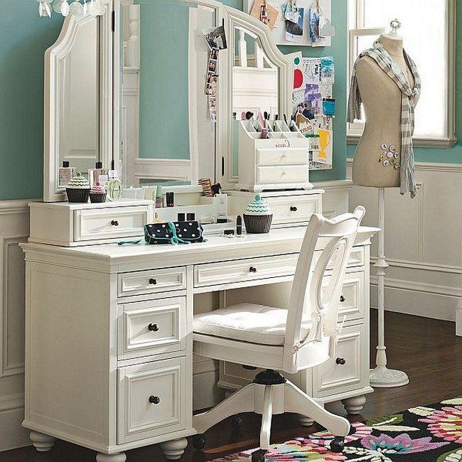 how to arrange a bedroom vanity sets. Black Bedroom Furniture Sets. Home Design Ideas