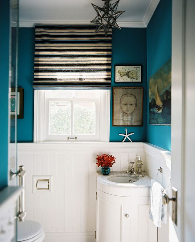Small bathroom design: a selection of bright ideas for you cozy ...