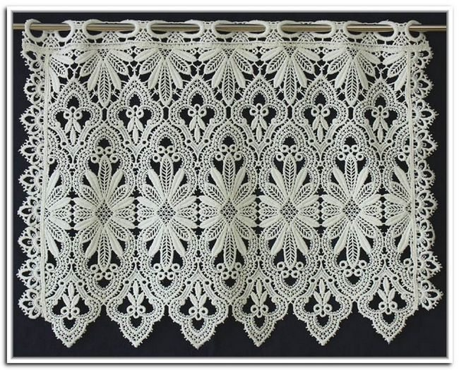 macrame curtains lace