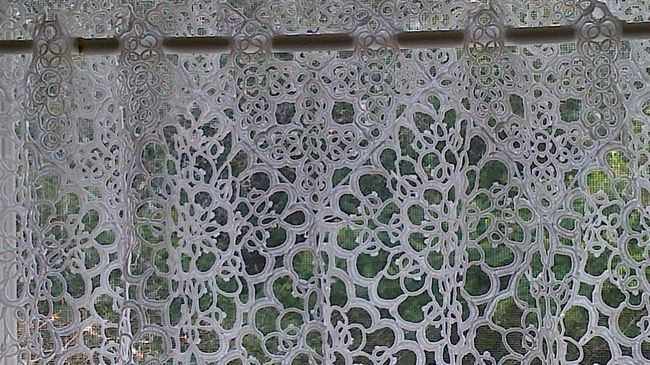 Macrame Lace Curtain