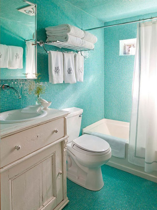 Small bathroom design a selection of bright ideas for you for Small bathroom design 2014