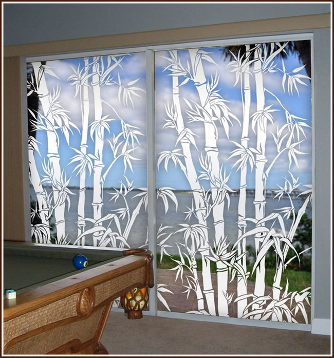 Bamboo-Decorative-Etched-Glass-Window-Film