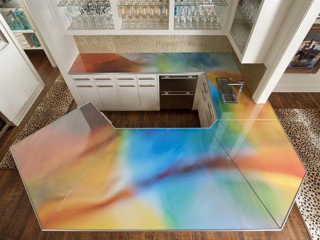 Colorful-Glass-Bar-Countertops