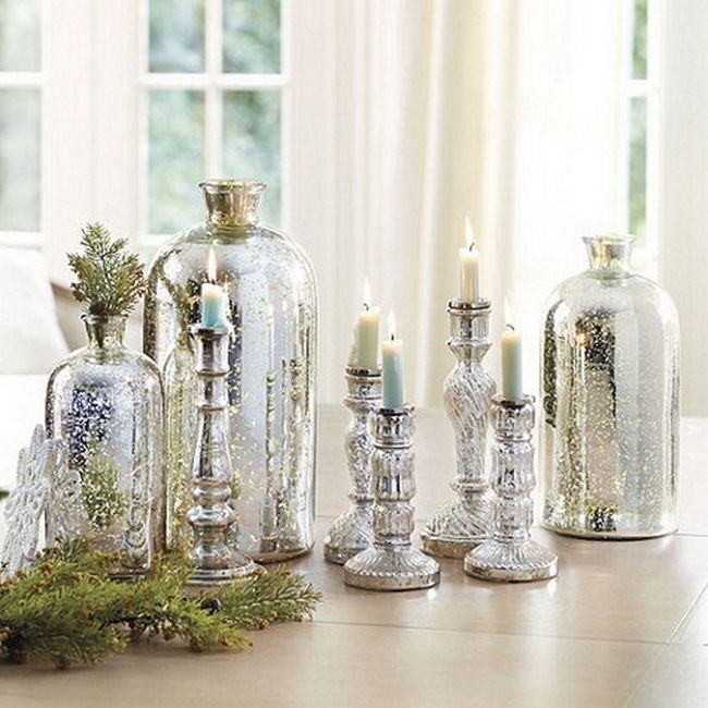 Mercury glass motives in your interior
