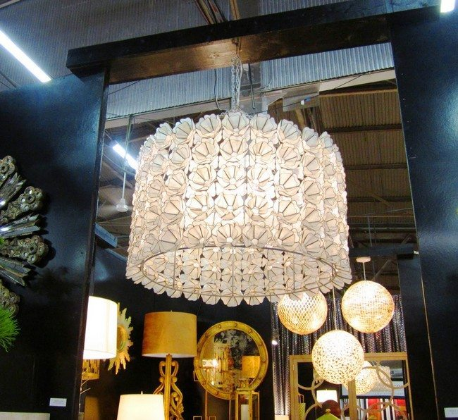 shop with variety of chandelier
