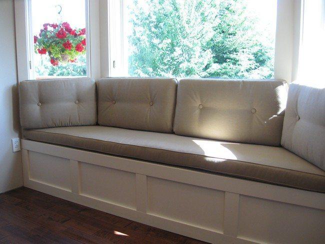 How to create DIY window seat cushion