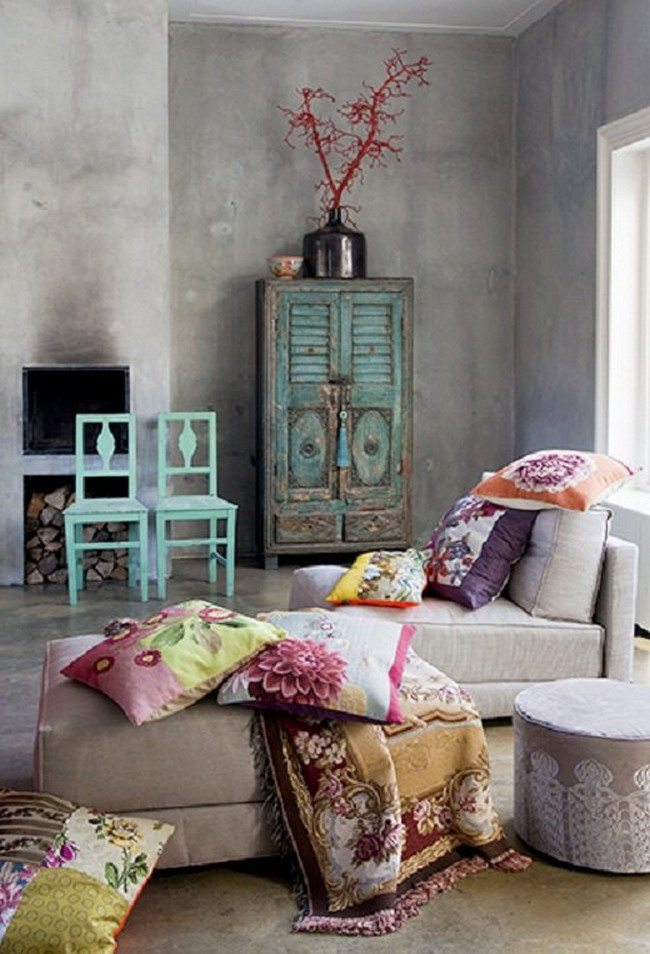 Image Result For Bohemian Style Living Room