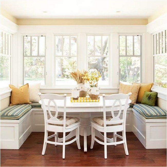 Breakfast Nook Plans For Your Kitchen Decor Around The World
