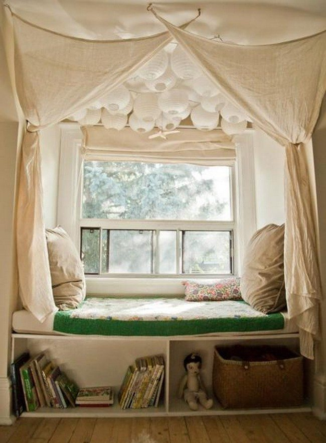 How to create diy window seat cushion decor around the world for How to make your bedroom look cool without spending money