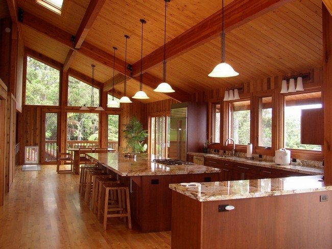 Log cabin decorating ideas decor around the world for Modern log home interiors