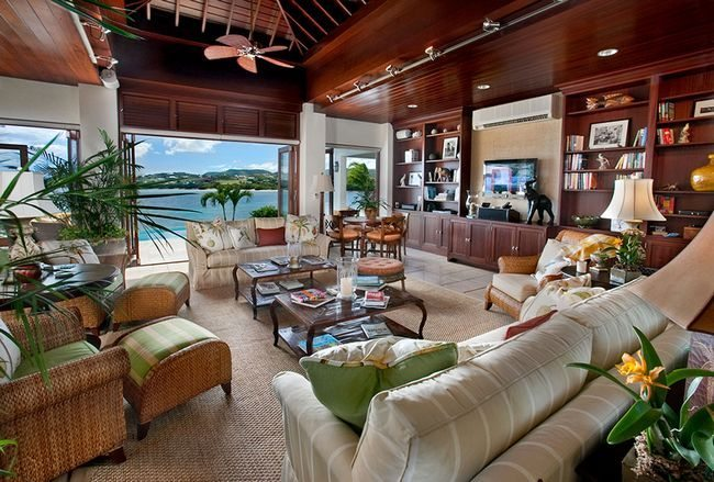 caribbean interior design 12 - Tropical Apartment Design