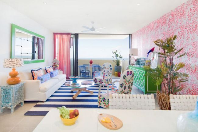 Caribbean Interior Design A Breath Of Tropical Air In Your Apartment Decor Around The World