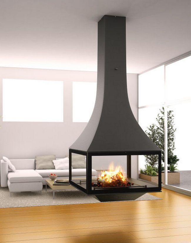 Simple Fireplace Decor