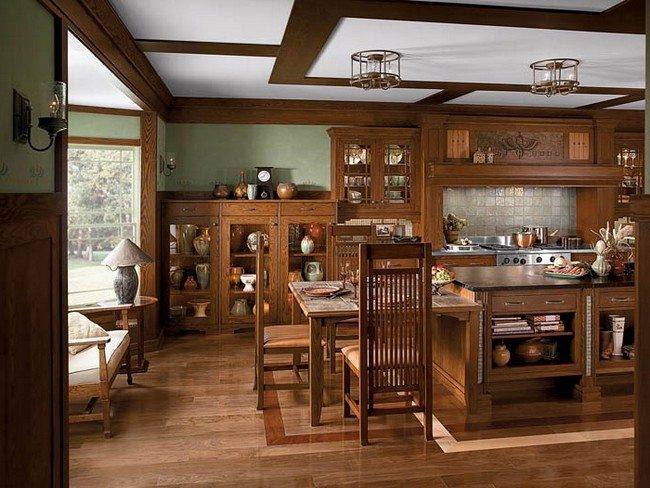 American Made Furniture >> Modern Craftsman Interior Design - Decor Around The World