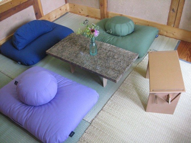 cushion set dot two persons