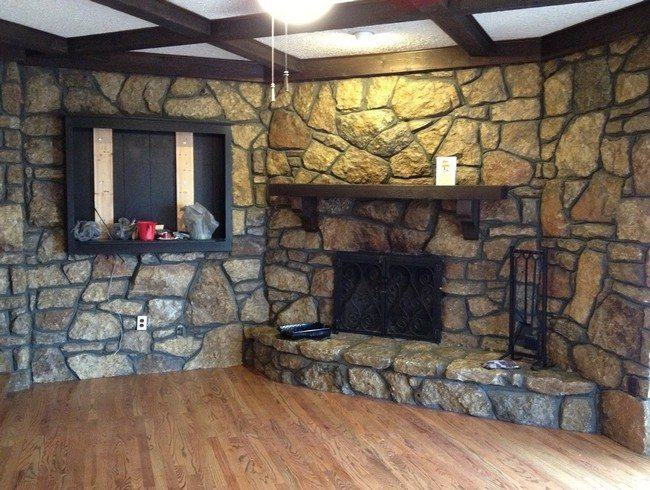 Rock Fireplace rock fireplaces in the house - decor around the world