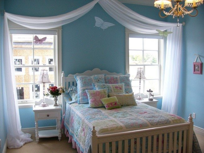 kids room furniture girl cute minimalist coastal bedroom decorating ideas with lovely curtain