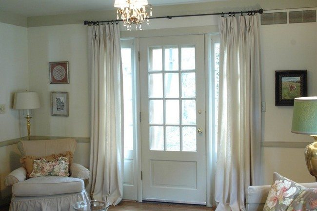 7 Door Panel Curtains Lowes Door Curtain Panels