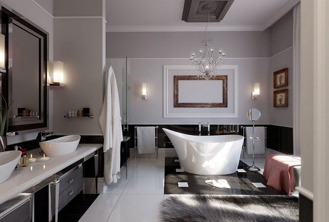 Elegance Bathtube in the middle of the room