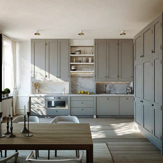 Amazing scandinavian kitchen design decor around the world Scandinavian kitchen designs