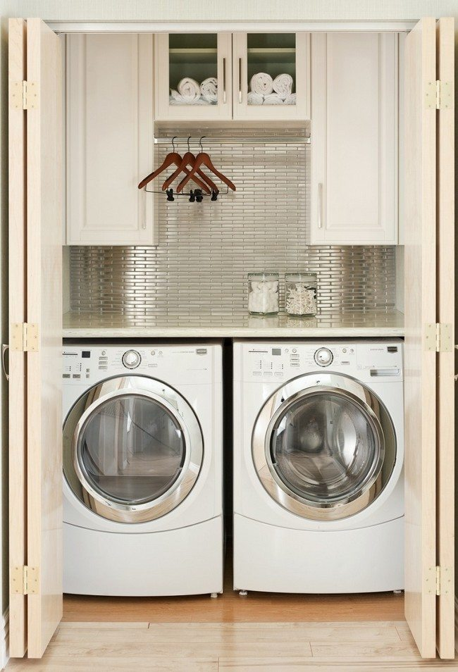 Space Saving Laundry Room Ideas
