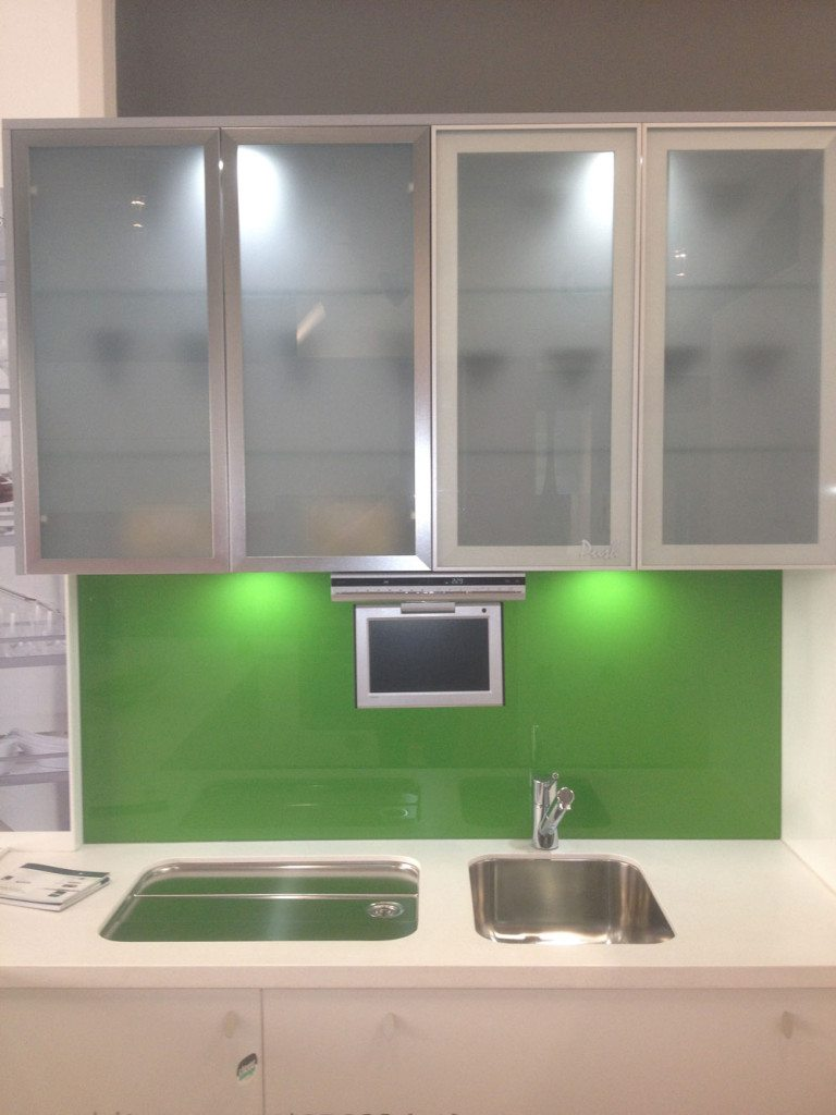 white kitchen cabinets frosted glass