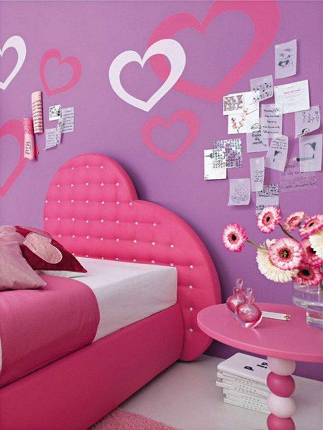For A Girlu0027s Bedroom, Pink Is Always A Good Color Choice Because It Adds A