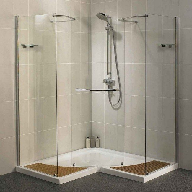 Design of the doorless walk in shower decor around the world Walk in shower kits