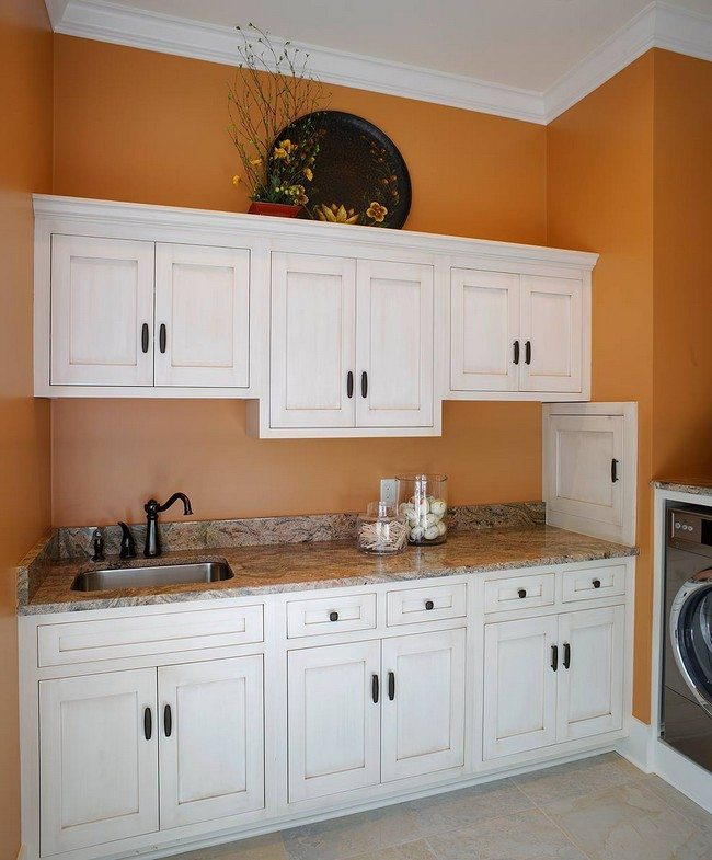 laundry room wall cabinets achieving the laundry room look decor around the 22538
