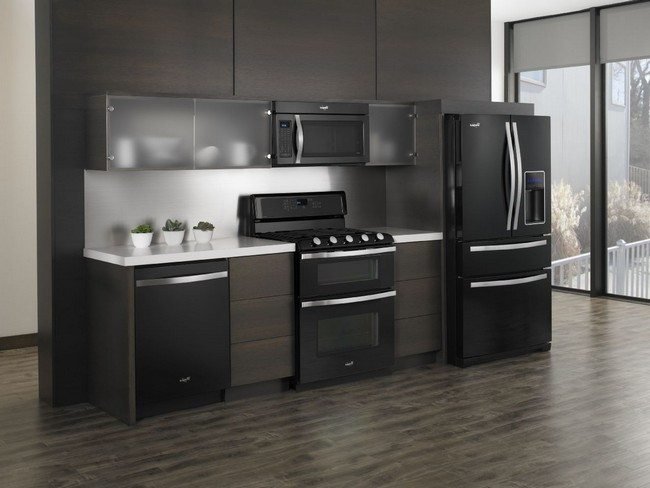 Black White And Grey Kitchen Designs