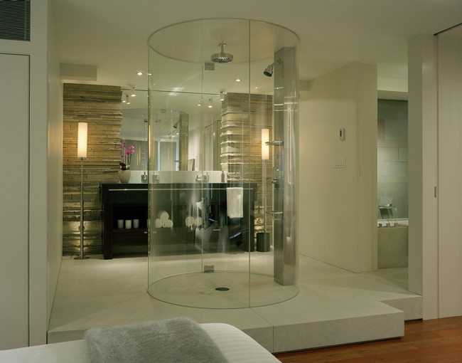 Design Of The Doorless Walk In Shower Decor Around The World