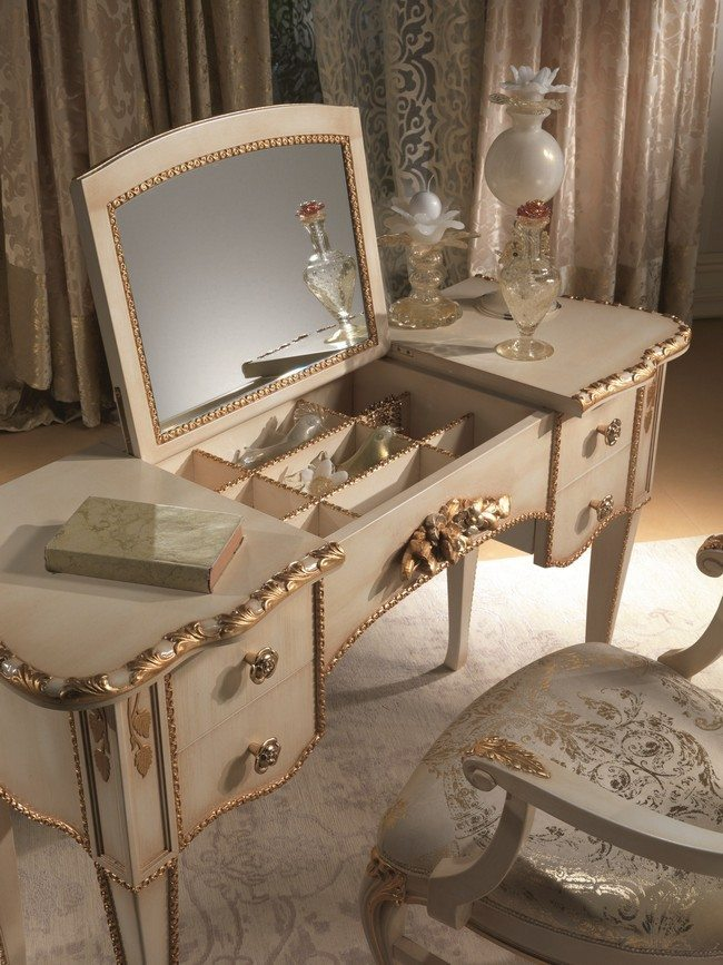 Mirrored Makeup Storage is a Stylish Way to Unclutter The Vanity Table or Bathroom - Decor ...