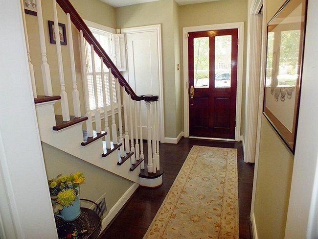 storage space under the stair at home