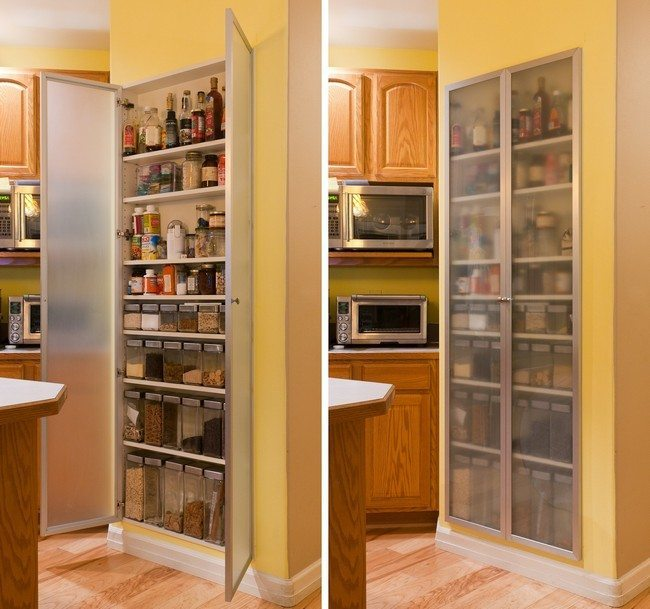 Finding Hidden Storage In Your Kitchen Pantry: Ideas On Installing The Best Frosted Glass Cabinets In