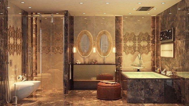 goldenr bathroom style