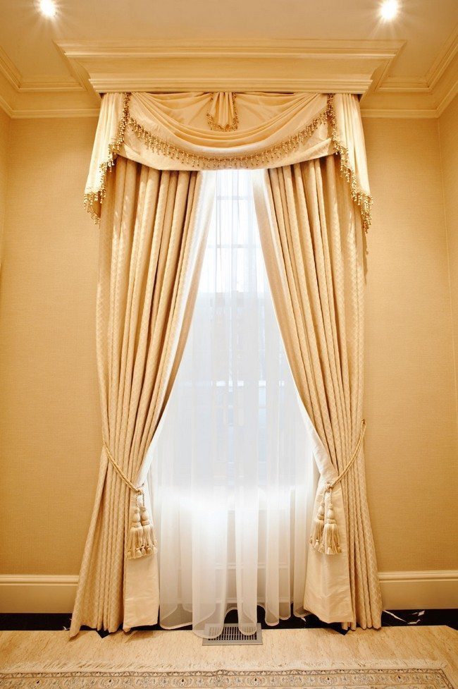 Curtain Decor Ideas For Living Room: Best Of The French Door Curtains Ideas