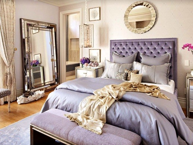 Most Beautifull Deco Paint Complete Bed Set: Hollywood Regency Bedroom Design Ideas