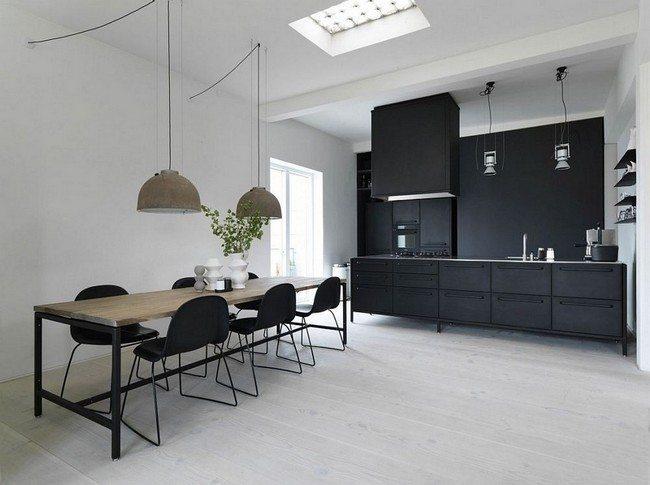 Amazing scandinavian kitchen design decor around the world for Kitchen set scandinavian