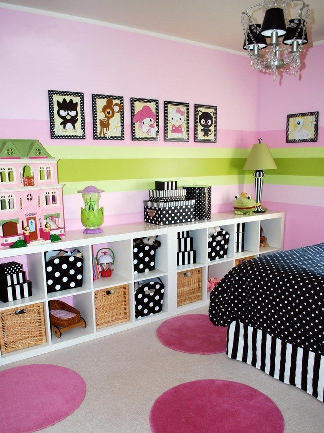 Cartoonified playroom