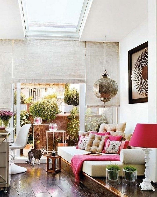 Moroccan Living Room moroccan living room décor - decor around the world