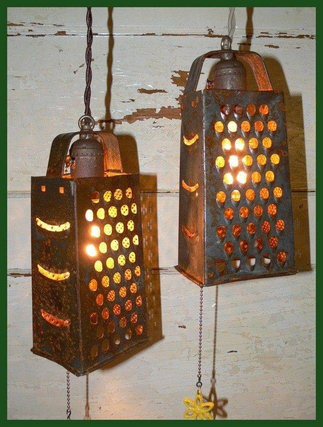 Grater hanging lights