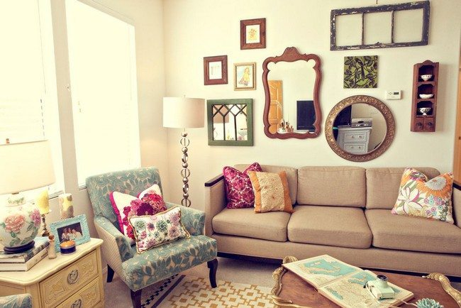 Retro Style Living Room Furniture Home Design