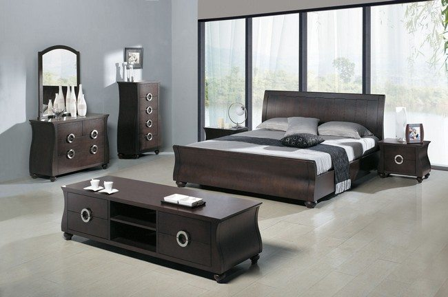 setting design ideas modern bedroom set decorating | Minimalist Bedroom Decorating Styles - Decor Around The World