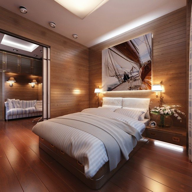 Bedroom Floor Painting Ideas