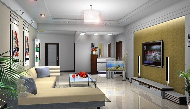 Ceiling designs for your living room decor around the world for Modern living room malaysia