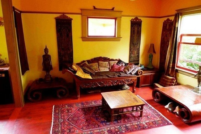 Moroccan living room d cor decor around the world for Moroccan living room furniture 02