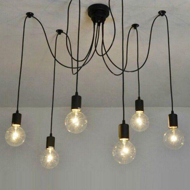 Chandelier-like lighting