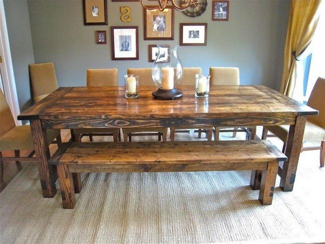 Amazing dinner tables for your home decor around the world for Dining table dressing