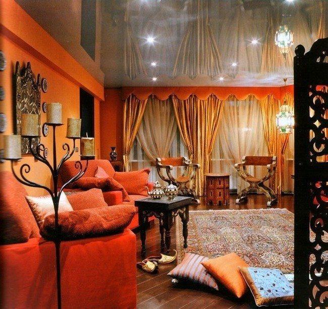 Moroccan Living Room Decor Decor Around The World