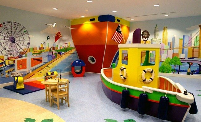 Highly customized playroom